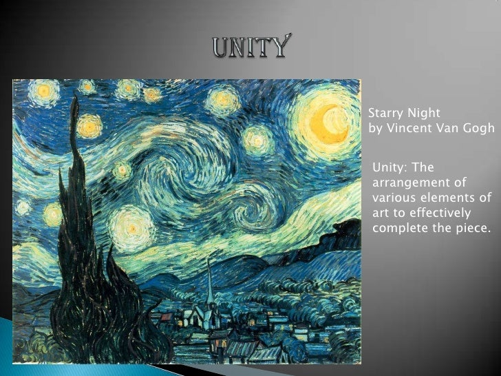 Unity Element Of Art : Principles and elements of art