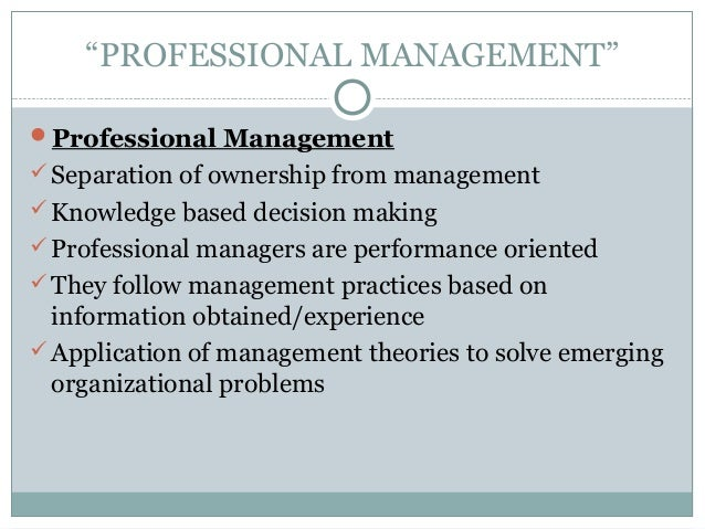 principles and practices of management Risk management principles and practice definition: understanding the principles and practice of risk management and the relevance and use of theories, processes and tools.