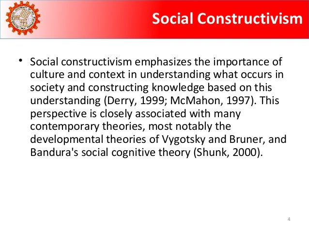 principles and theories of learning  social constructivism