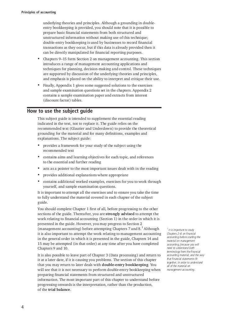 principles of accounting rh slideshare net Intermediate Accounting Study Guide Accounting Cheat Sheet