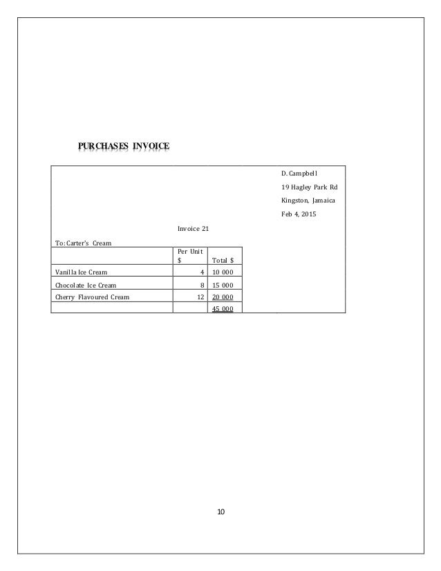 Principles of accounts school based assessment