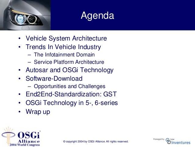 Principles of a vehicle infotainment platform - Hans-Ulrich Michel, BMW Slide 2