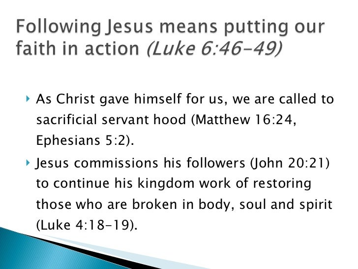 Principles of Christian ministry and social action (mangneo) Slide 2