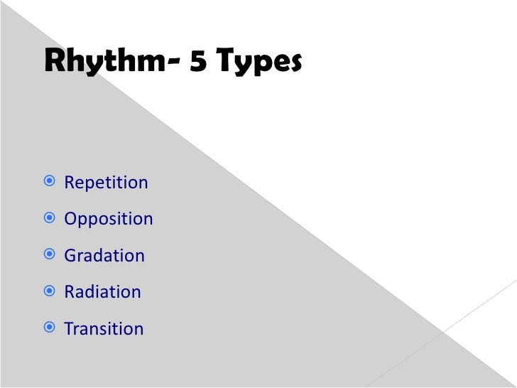 5 types of rhythm in interior design home design for Rhythm by transition