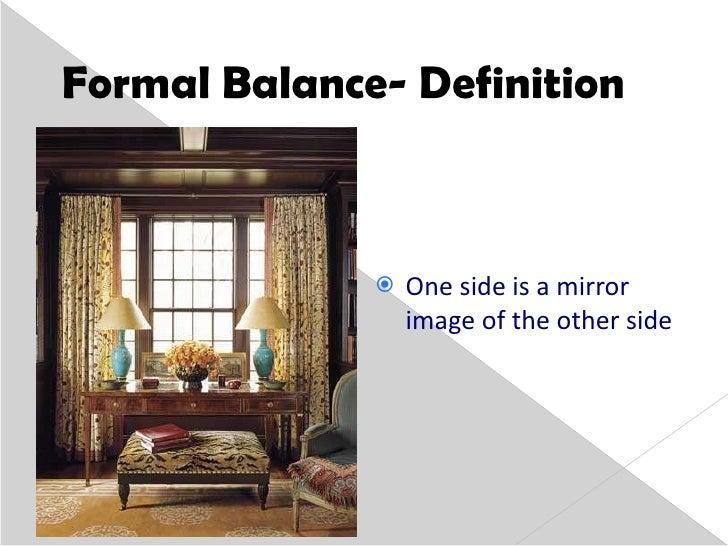 3 Formal Balance Definition