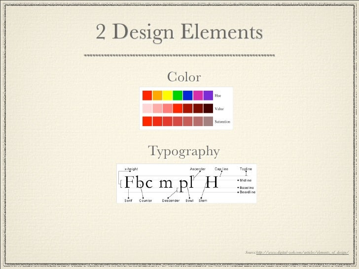 Basic Elements And Principles Of Design : Basic principles and elements of graphic design