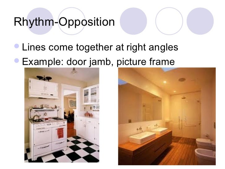 7 most important interior design principles rhythm in for Rhythm by transition
