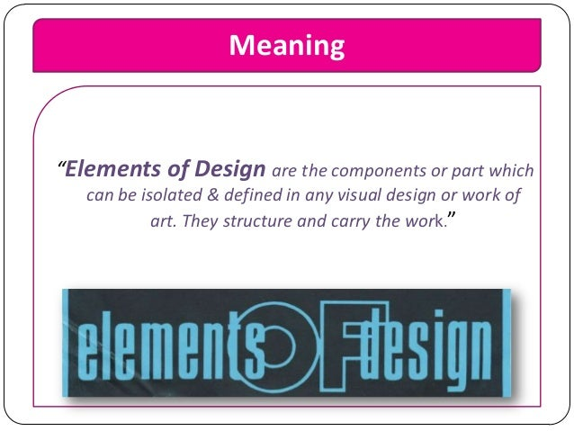 Elements And Principles Of Design Color Definition : Elements and principles of design