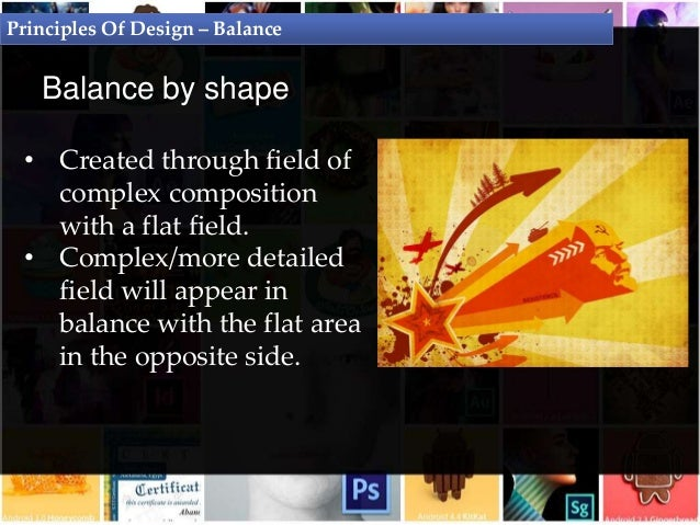 Principles Of Design Shape : Principles of design graphic theory