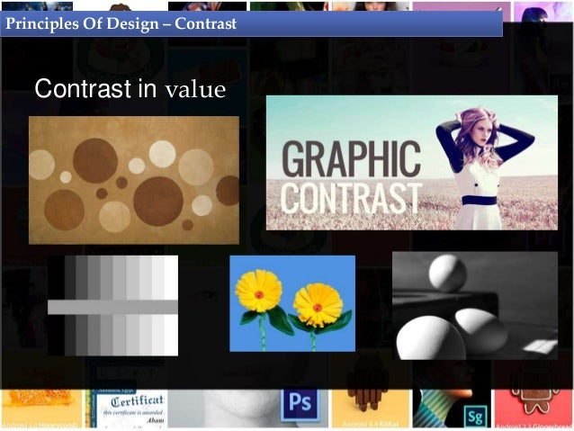 Principles Of Design Value : Principles of design graphic theory