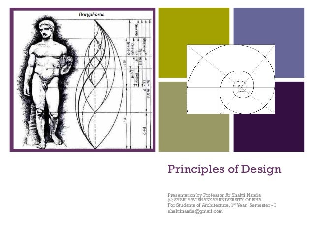 + Principles of Design Presentation by Professor Ar Shakti Nanda @ SRISRI RAVISHANKAR UNIVERSITY, ODISHA For Students of A...