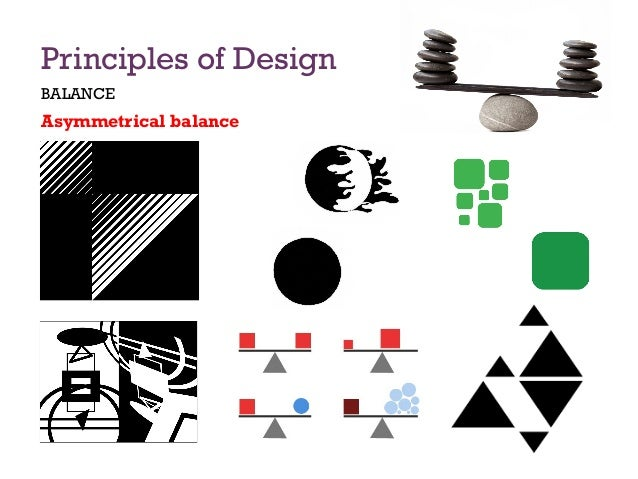 Principles Of Design Balance : Principles of design