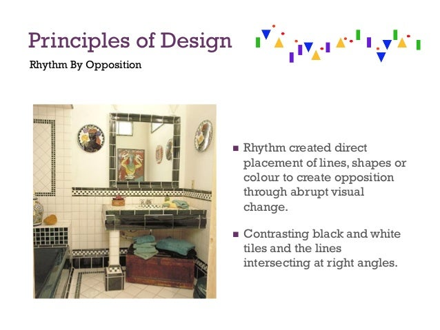 Principles Of Design Rhythm By Opposition