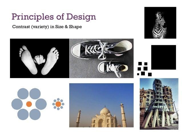 Principles Of Design Shape : Principles of design