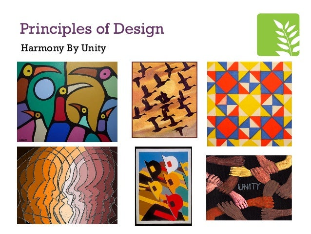 Principles Of Design Harmony : Unity principles of design home