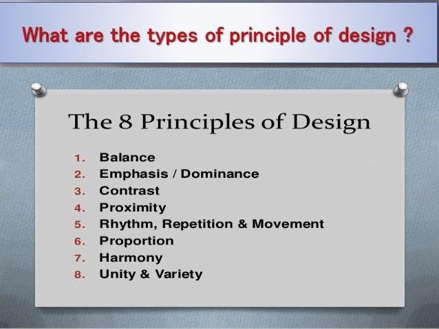 Principle of design Slide 3