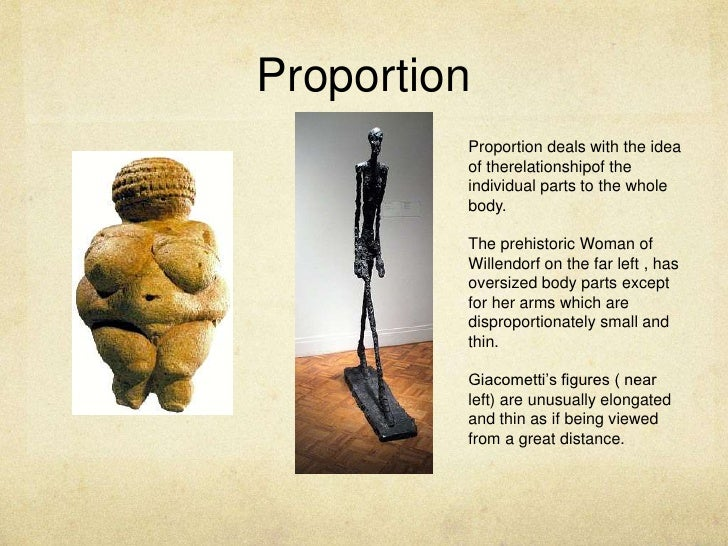 Proportion Proportion deals with
