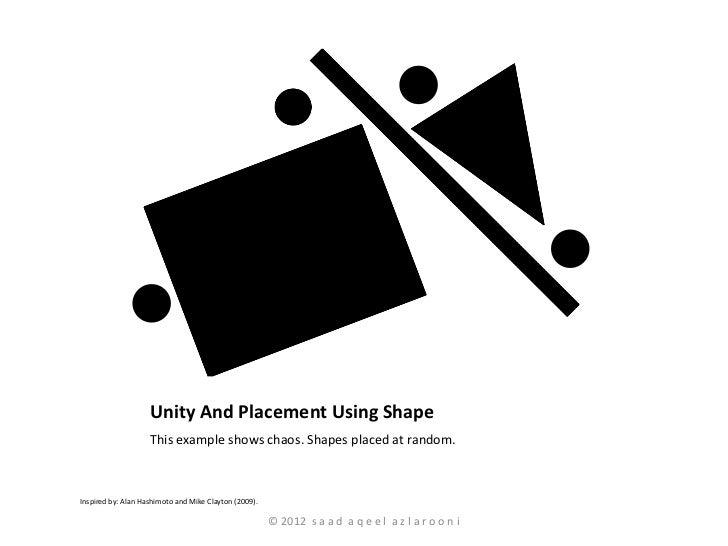 Principles Of Design Shape : Principles of design part i gestalt laws unity and harmony