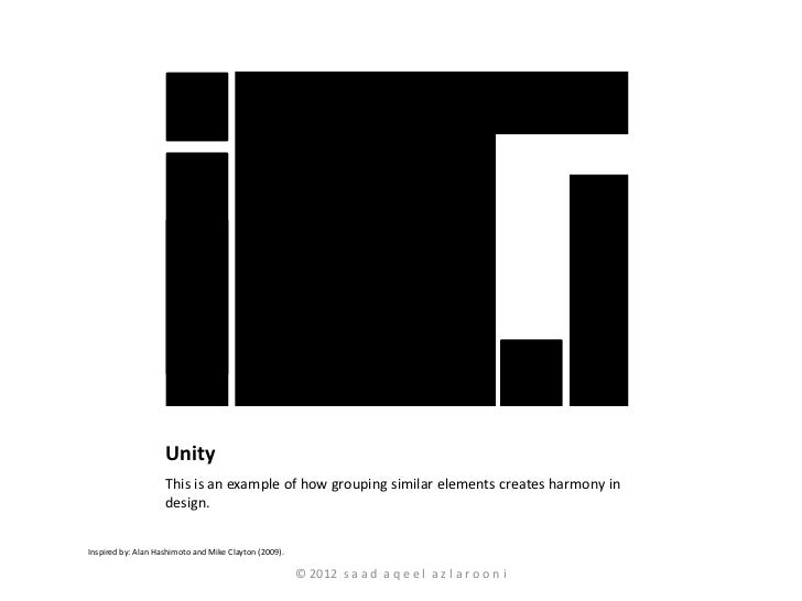 Principles Of Design Part I Gestalt Laws Unity And Harmony