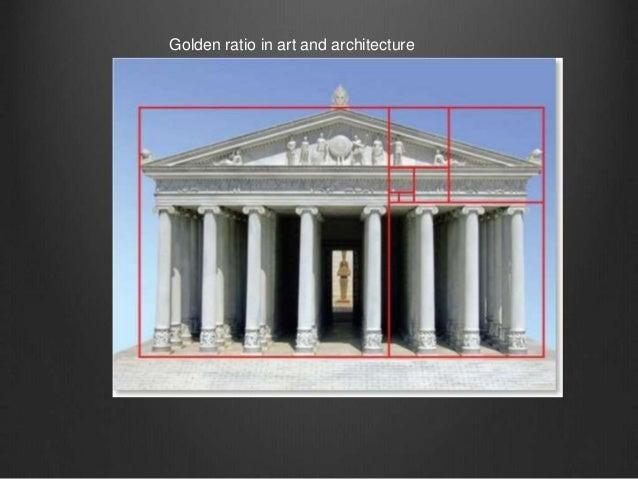Modern Architecture Golden Ratio