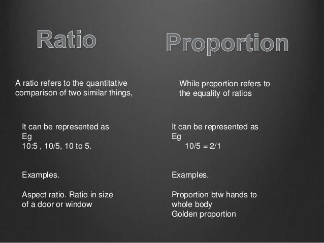 What Is Proportion In Principles Of Design
