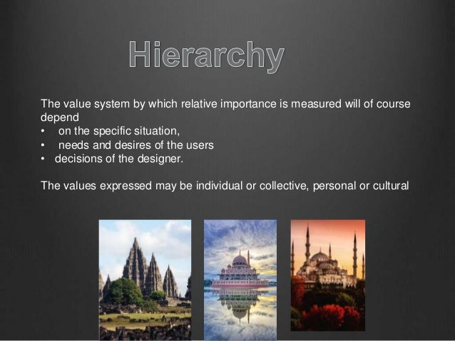 Principles Of Design Value : Principles of design theory module proportion scale hiu