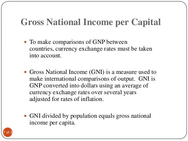 how to measure national income