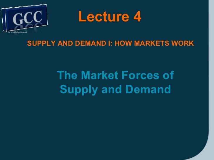 market forces should realign the relationship principles