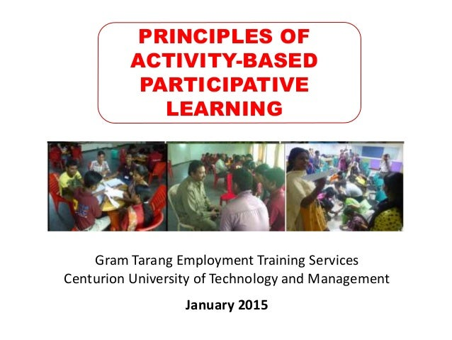 Activity based learning (abl) through effectively developed lesson pl….