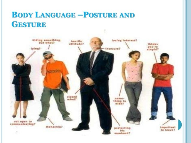 principles of effective communication body language posture andgesture