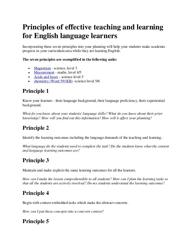 learning and english language teaching From this perspective, the syllabus for english language teaching has been framed with the objectives of learning english while learning english.