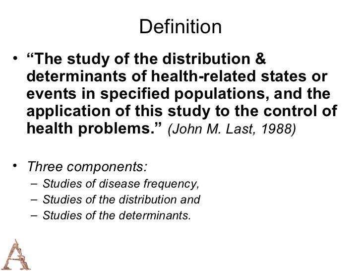 Epidemiologic study | definition of epidemiologic study by ...