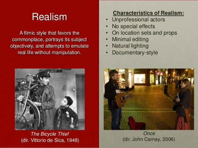 understanding realism and formalism in film Formalist theories of film ted nannicelli, university of waikato penultimate draft – please do not cite over the course of the relatively brief history of film studies, a striking number of diverse permutations of formalism have been advanced (christie 1998 buckland 2009.
