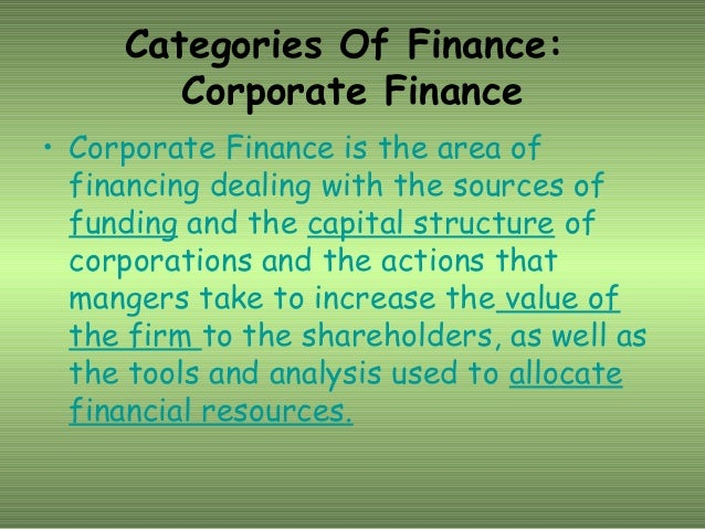principles of corporate finance goals and This article on all you wanted to know about corporate finance would give you a gist of what it is, roles, principles, concepts and career overview.