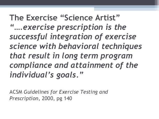 Principles of fitness assessment student
