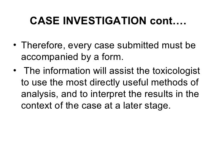 principles of forensic toxicology pdf
