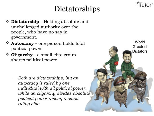 Image result for Can a Dictatorship Be A Top World Power?