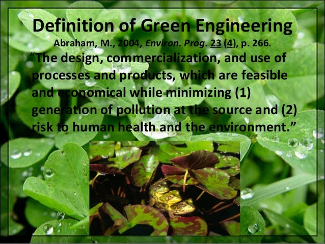 green chemistry minimizing the generation and Many times we have heard the term green chemistry, but probably we  and  processes to reduce or to eliminate the use and generation of.