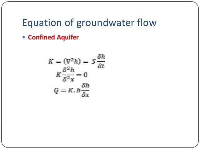On non-artesian groundwater flow - researchgate.net