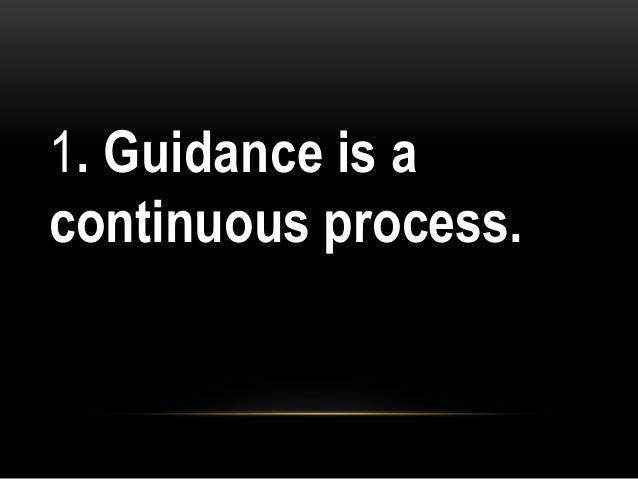 14 Significant Principles of Guidance – Explained!