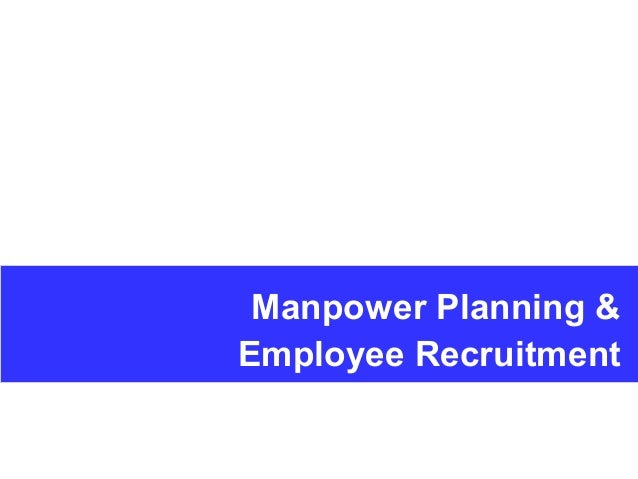 Workforce planning and HR templates