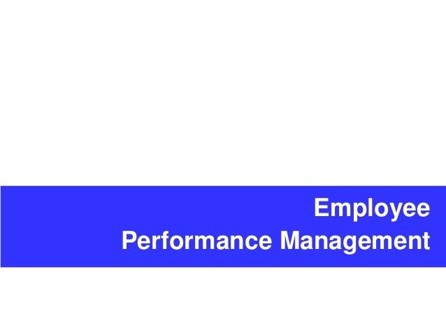 principles of performance management ppt