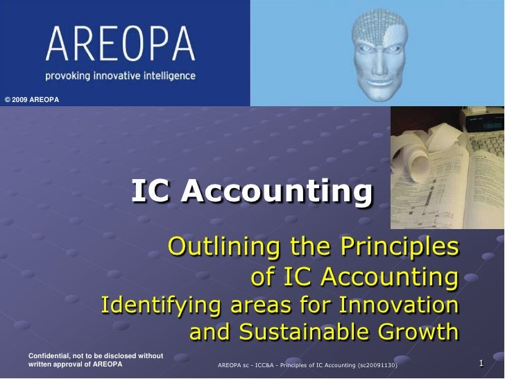 IC Accounting<br />1<br />Developed for<br />Insert Client<br />Logo Here<br />Outlining the Principles of IC Accounting<b...