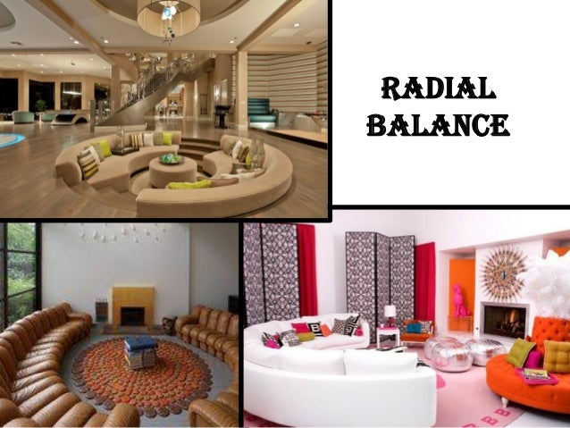 radial balance in interior design