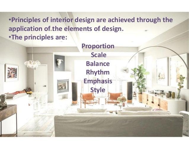 principles of interior design rh slideshare net principle of interior designing principles of interior designing pdf