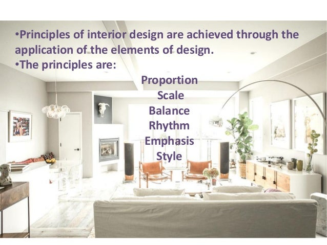 Principles Of Interior Design Elements And Principles Of