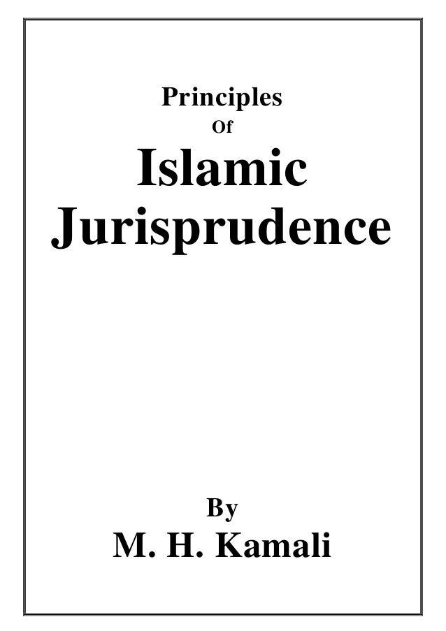 Principles        Of   IslamicJurisprudence       By  M. H. Kamali