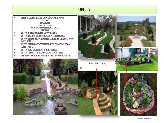 Principles of landscape for Garden design principles