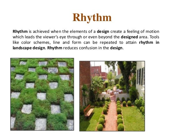 Principles Of Landscape Design 1