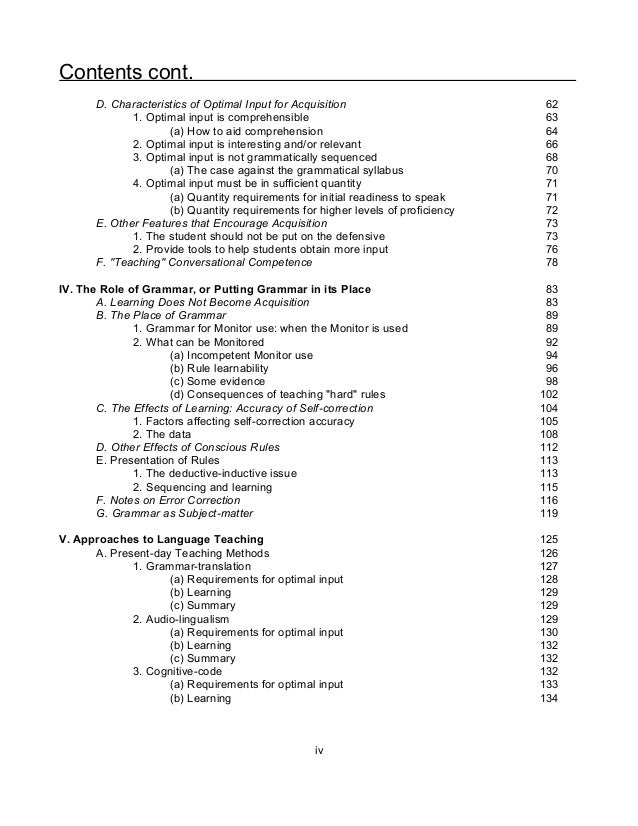 language acquisition principles Second language acquisition - essential information the information and advice on this page was written for fis teachers in advance of.